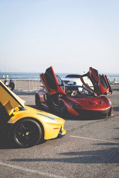 LaFerrari and P1