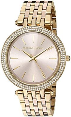 Michael Kors Women's Quartz Stainless Steel Automatic Watch, Color:Gold-Toned (Model: MK3507) - Brought to you by Avarsha.com