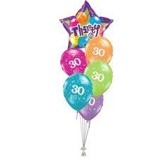 Tros Folie Latex High Float Ballonnen Happy 1std Birthday