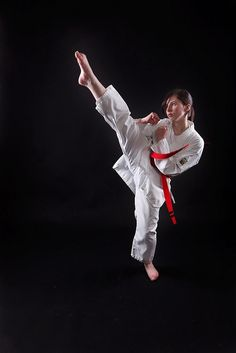 I have my black belt in Kenpo Karate, Krav Maga, Brazilian Jujitsu and I am on my way to achieving my black belt in Muay thai and Japanese Mounted Archery.
