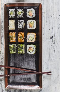 Perfect Sushi Photography in High Resolution only @foodeverest #foodphotography #foodpicks #foodbloggers #foodstamping #foodpreparation #sushi #sticks #japanesefood #asianfood #rice #foodshare #foodstyling #foodoftheday #foodies