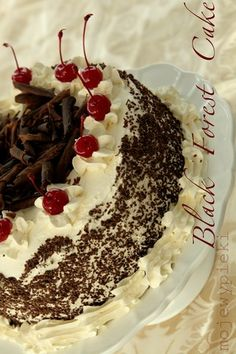 Tort Szwarcwaldzki (Black Forest Cake). Its in Polish but Google has a Translater. This site is really good if you can get through some of the Polish, its worth it Recipes are amazing!