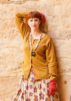 #Farbbberatung #Stilberatung #Farbenreich mit www.farben-reich.com Knitted cardigan in cotton & wool – Sweaters & cardigans – GUDRUN SJÖDÉN – Webshop, mail order and boutiques | Colourful clothes and home textiles in natural materials.