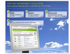 Easy Retirement Calculator.