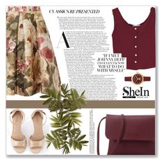 """SheIn # 1"" by azra10 ❤ liked on Polyvore featuring Chanel and Tory Burch"