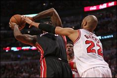 The Miami HEAT beat the Chicago Bulls, 104-94, in Game 3 on Friday night at Unit