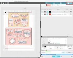 Kiss Cut Sticker Sheets with Silhouette CAMEO 4 | Silhouette School Blog