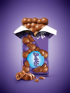 Milka on Behance Milka Chocolate, Dairy Milk Chocolate, Chocolate Lovers, Chocolate Coffee, Candy Packaging, Chocolate Packaging, Ads Creative, Creative Posters, Motion Design