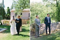 Wedding photographer in Provence  Village Lacoste, Luberon Valley  Maya Maréchal