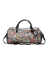 HOTTOPIC.COM - Marvel Comics Collage Weekender Bag