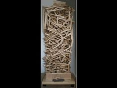 ▶ Tower - Marble run, rolling ball sculpture - YouTube