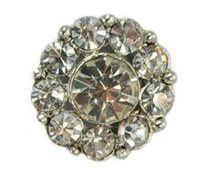 Cluster Button Diamante small