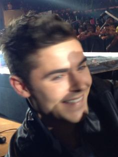 Face to face with Zac Efron