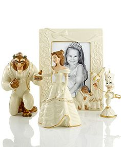 Lenox Collectible Disney Figurines, Beauty and the Beast Collection -- YES PLEASE!