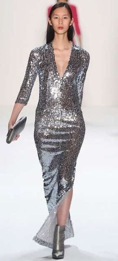 The Laurèl Fall 2013 Ready-to-Wear Collection is Reflective #fashion trendhunter.com