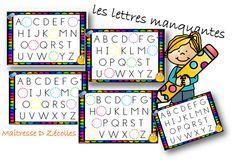 Alphabet Capital, Montessori, Bullet Journal, Education, Voici, School, Blog, Cycle 2, Apc