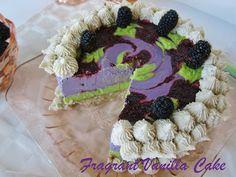 Happy birthday to me! This Raw Key Lime Blackberry Birthday Dream Cake is amazing.