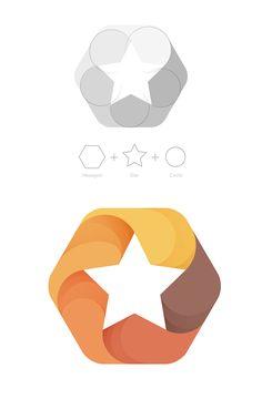 Circle Star Hexagon More