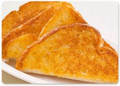 Cheesy toast from Sizzlers ... Yum