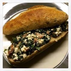Broodje smeuïge boerenkool: skinny en heul lekker!