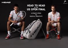 Nole vs Andy : US Open Finale today !! #USOpen #Head #tennis