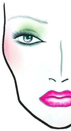 MAC Cosmetics Colour Craft Collection Facecharts Here are eight face charts designed and created for their upcoming Colour Craft Collection! :) Colour Craf