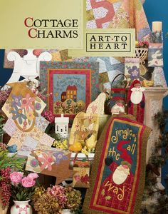 Arte Para Charms Corazón-Cottage