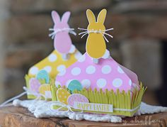 Happy Easter Treat Boxes by Amy Sheffer for Papertrey Ink (February 2016)