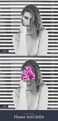 Learn how to easily create this trendy anti-selfie in just a few steps.