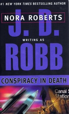 Conspiracy in Death by J. D. Robb, http://www.amazon.com/dp/0425168131/ref=cm_sw_r_pi_dp_NI-Qqb1M5PC5V