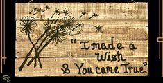 Dandelion, Art, anniversary gift, five year anniversary gift, wife, gift, hu Five Year Anniversary Gift, Boyfriend Gifts, Girlfriend Gift, Dandelion Art, Lodge Decor, Custom Wood Signs, Nature Decor, Art Logo, Gifts For Husband