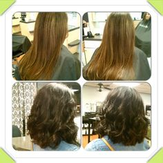 A few hours with us can give you a whole new look! Beautiful before and after of color and cut done by Kati today. Call us today to schedule your appointment :-)  #salon621