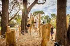 Adelaide Zoo – Nature's Playground | Adelaide, Australia | WAX Design with Phillips Pilkington Architects #landscapearchitecture #australia