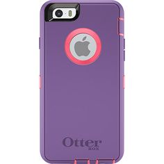 Rugged iPhone 6 Case | Defender Series by OtterBox. Pink/Blue