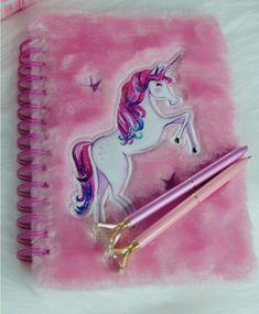 Book of unicorn Unicorn Room Decor, Unicorn Bedroom, Vietnam Tour, Diy For Kids, Crafts For Kids, Unicorn Books, Unicorn Fashion, Cool School Supplies, Unicorn Jewelry