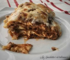 Recette lasagne traditionelle