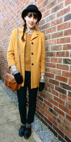 Looking pretty in mustard!