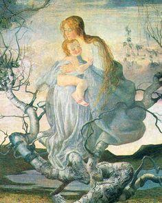Giovanni Segantini, Engel des Lebens