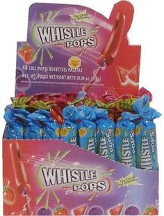 Candy Addict » Retro Candy Flashback: Whistle Pops