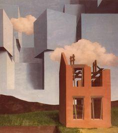 Rene Magritte - The Universe Unmasked René Magritte 1898 - 1967  More @ FOSTERGINGER At Pinterest