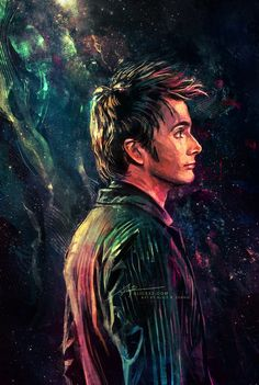 Doctor Who fan art of David Tennant as the Doctor / Ten Doctor Who Fan Art, Doctor Who 10, Doctor Who Quotes, Eleventh Doctor, Doctor Who Rose, Diy Doctor, David Tennant Doctor Who, Fanart, Fan Art Avatar