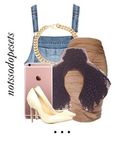 Untitled #23 by notssodopesets on Polyvore featuring polyvore, fashion, style, AX Paris, Moschino and Alessandra Rich