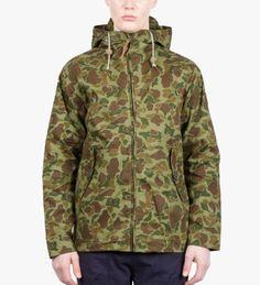 Duck Camo Gibson Hooded Jacket - Medium - $150.00