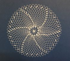 Filet lace / Doily