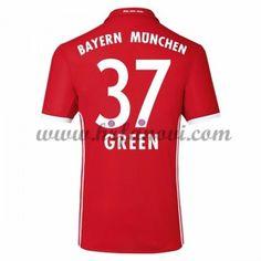 Bayern Munich Nogometni Dresovi 2016-17 Green 37 Domaći Dres Komplet