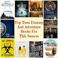 Top Teen Fantasy And Adventure Books For This Season - Going Reno