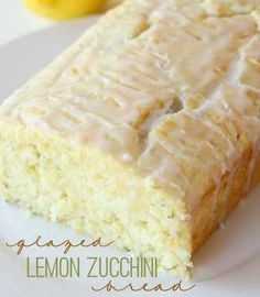 Glazed Lemon Zucchini Bread - Housekeeping101.com