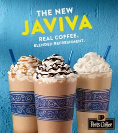 Come and try our new Organic Blended Coffee Javiva
