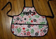 Sew Like My Mom | Ultimate Applique Tutorial...apron