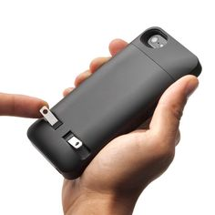 Check out what's on sale at TouchOfModern  Taking a two prong approach to charging your iPhone.